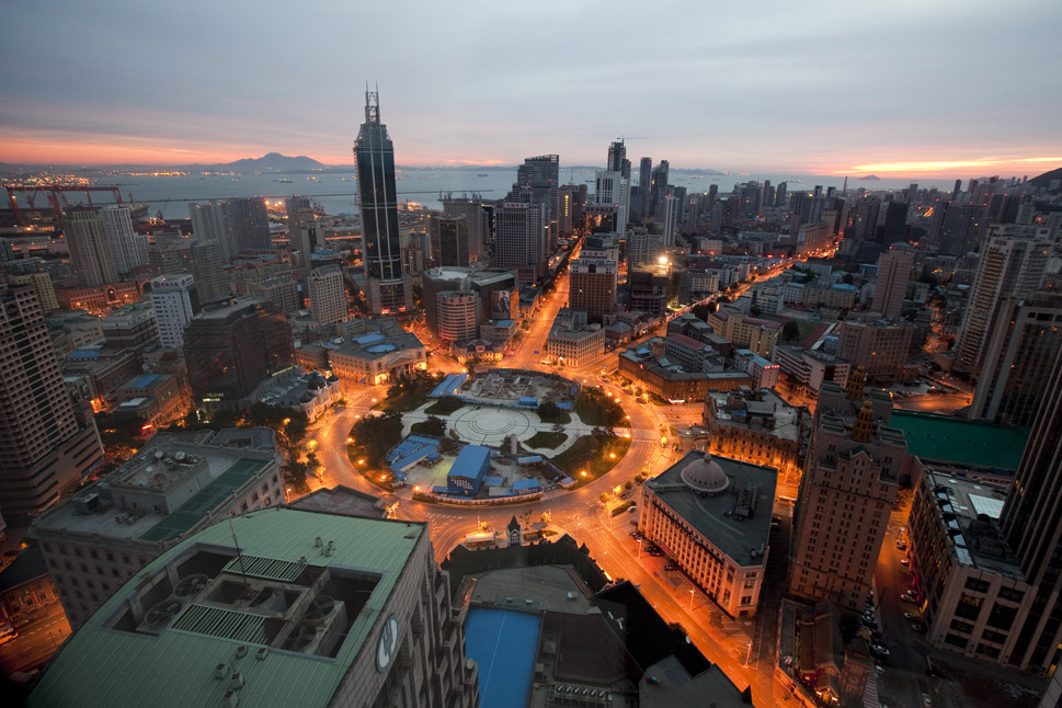 Ville de Dalian Chine
