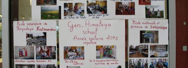 Les élèves de l'Oratoire soutiennent l'association Gers Himalaya.