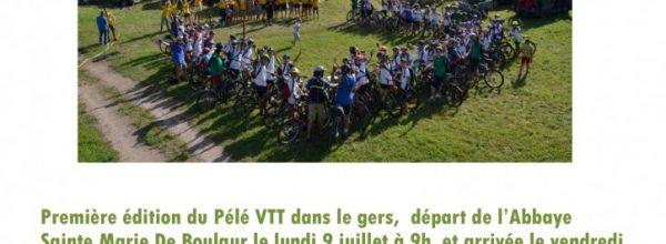 Pélé VTT 32, «La Route du Gers 1ère édition»