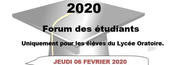 Carrefour des expériences 2020